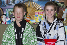 Japanese traditional costumes